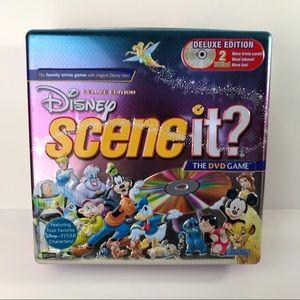 Disney Scene It? Trivia Board Game in Tin